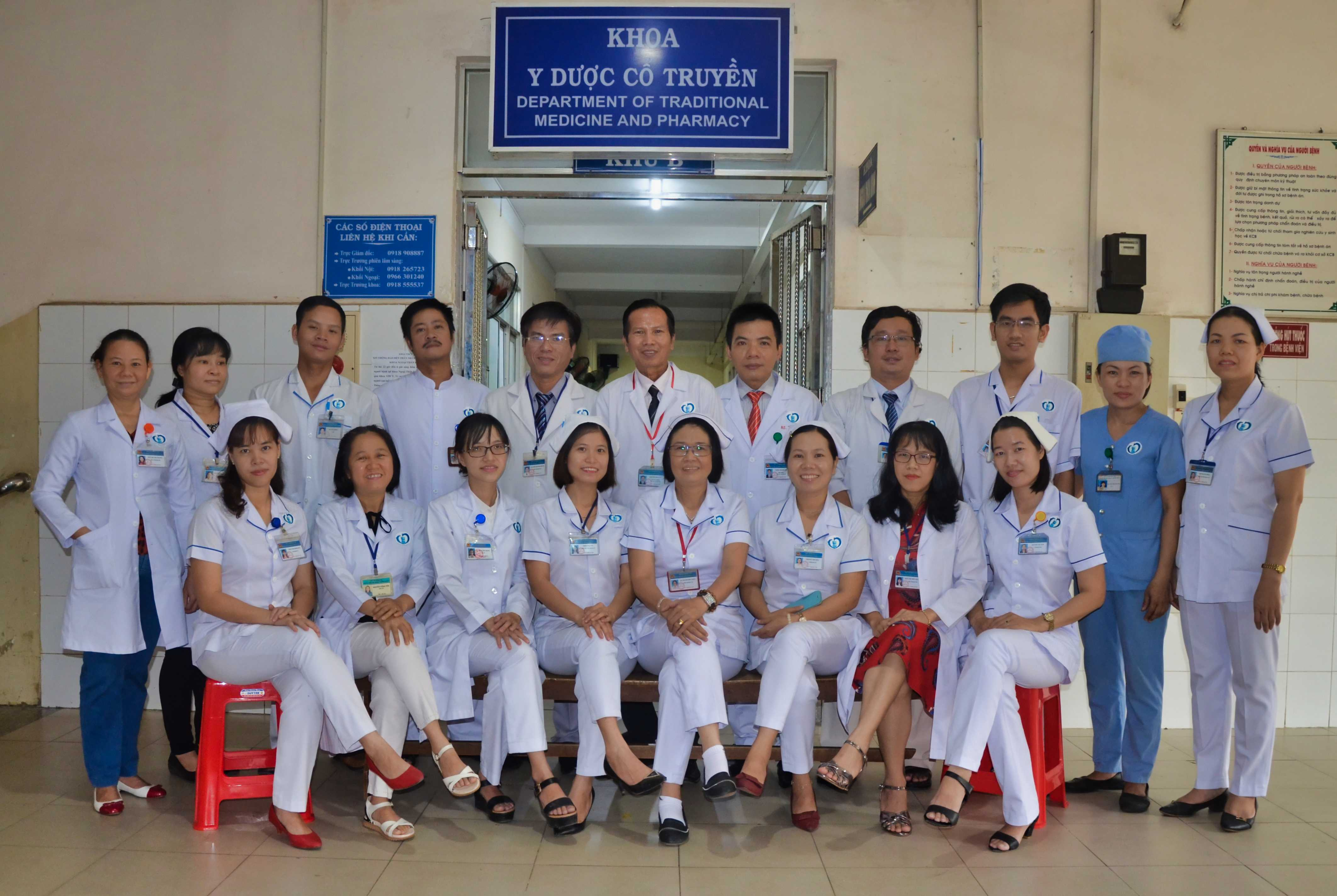 Khoa Y Học Cổ Truyền (Department Of Traditional Medicine And Pharmacy)