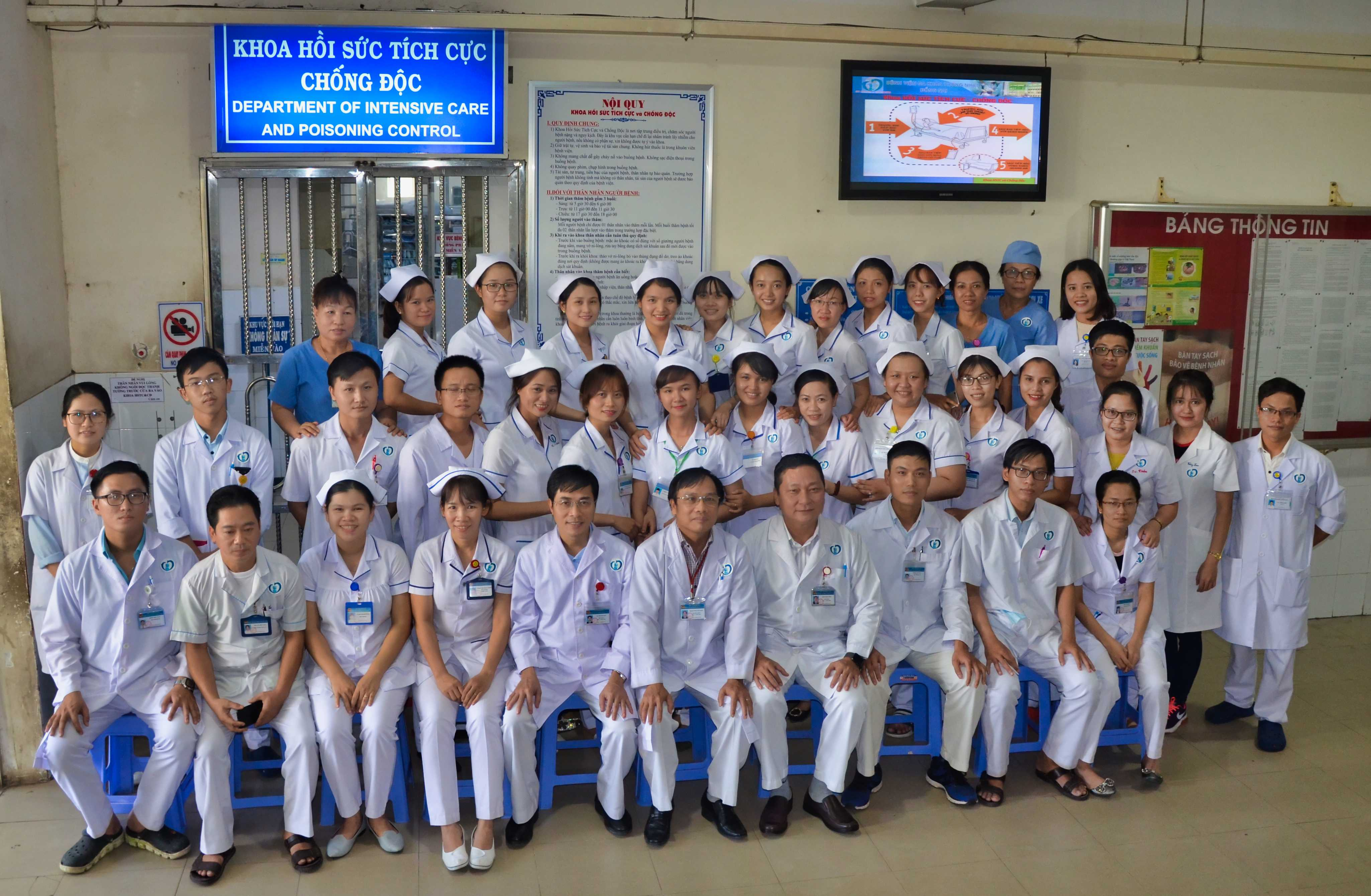 Khoa HSTC-CĐ (Department Of Intensive Care And Poisoning Control)