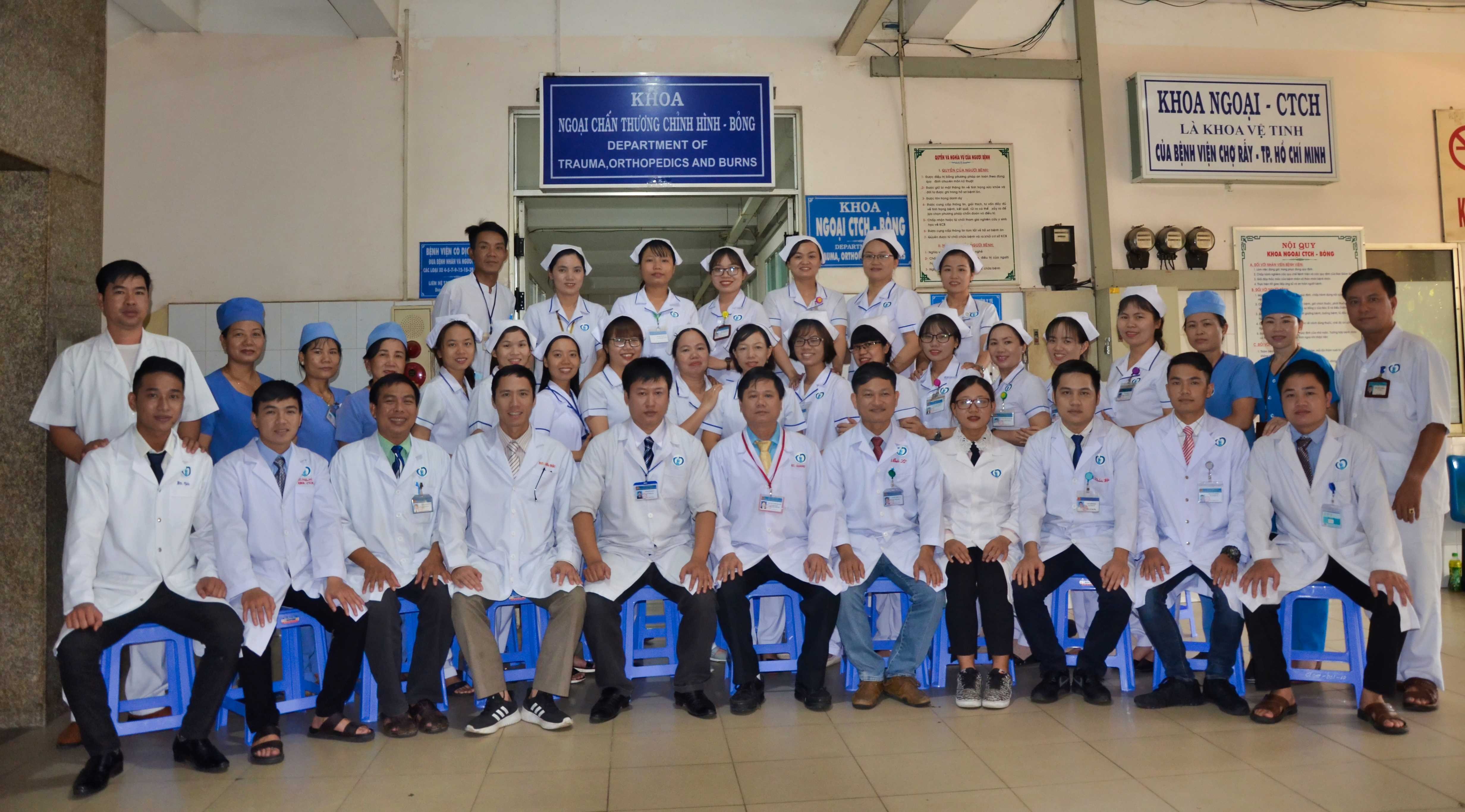 Khoa Ngoại CTCH-Bỏng (Department Of Trauma Orthopedics And Burns)